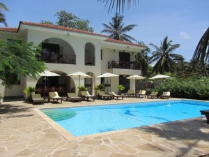 Beachfront Resort for sale in Galu, Beautiful Galu Beach Villas for sale in Kenya